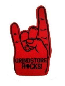grindstore rocks hand