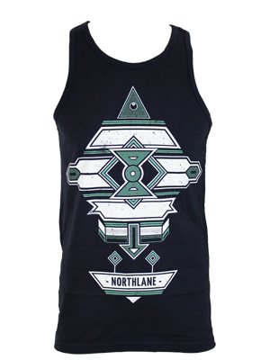 Northlane Aztec Men's Navy Vest