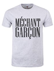 Méchant Garçon T-Shirt Homme Gris