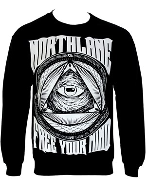 Northlane Free Your Mind Men's Sweatshirt